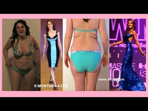 Weight Loss Transformation Journey Motivation Women Exercise Workout Fitness Lose Baby Weight