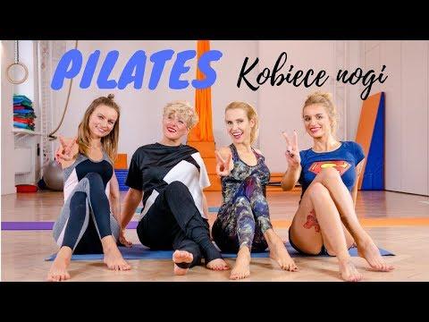Kobiecy PILATES 💙 Nogi | Brzuch | Ciało #ŻelazneDziewczyny