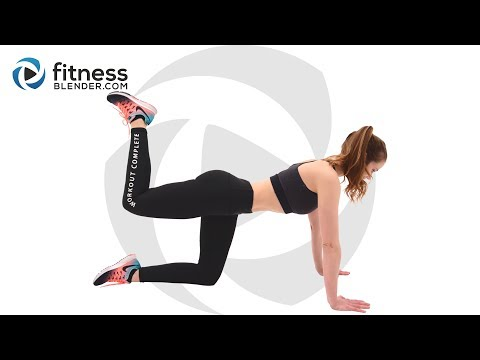 35 Minute Pilates Workout for Butt and Thighs – At Home Pilates Workout
