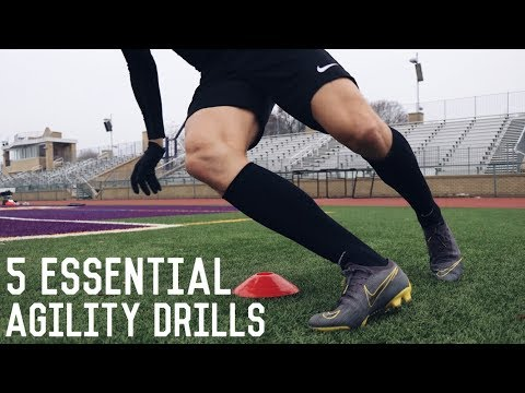 5 Essential Speed and Agility Drills   Increase Your Speed and Change of Direction