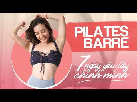 Chuẩn bị sẵn sàng với Pilates Barre | 7 ngày yêu lấy chính mình ♡ Hana Giang Anh