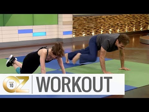 Dr  Oz's 7-Minute Morning Workout