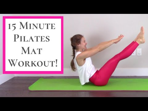 Pilates Workout – 15 Minute Full Body Pilates Home Workout!
