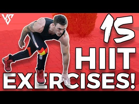 15 Different HIIT Cardio Exercises for MAX Calorie Burn