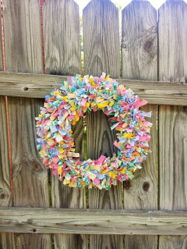 fabric wreath 5