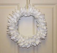 Felt Petal Wreath