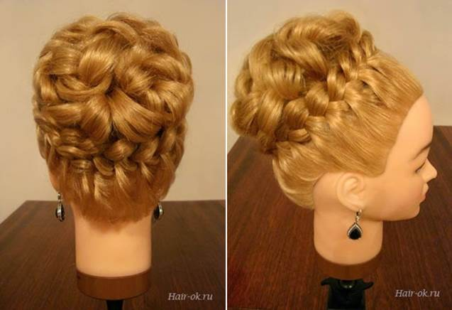 Wonderful DIY Elegant Hairstyle With Braids And Curls
