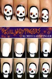 wonderful halloween nail art