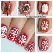 wonderful christmas nail art
