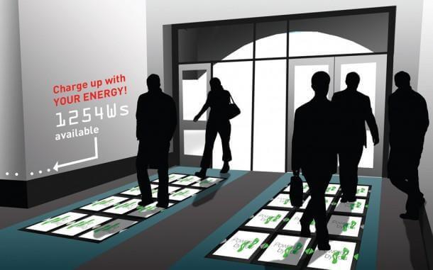 Power Walking energy floor 2