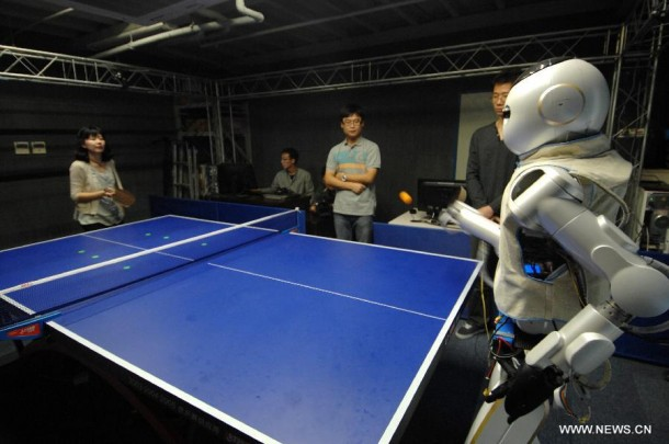 Table Tennis and Robotics 3