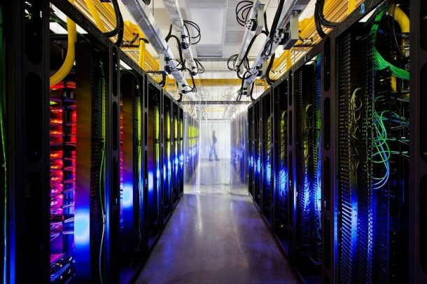 Take a Look – Google Data Centre