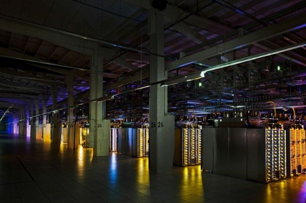 Take a Look – Google Data Centre 8