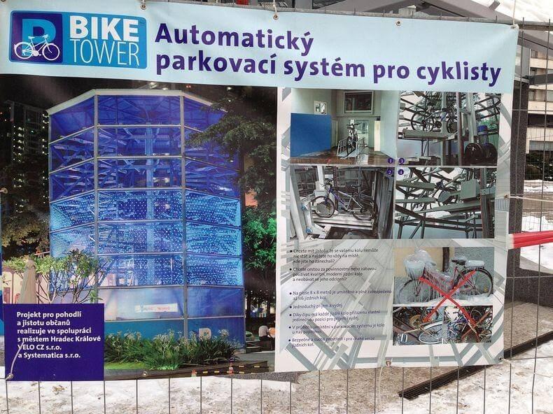 Bike Parking Tower