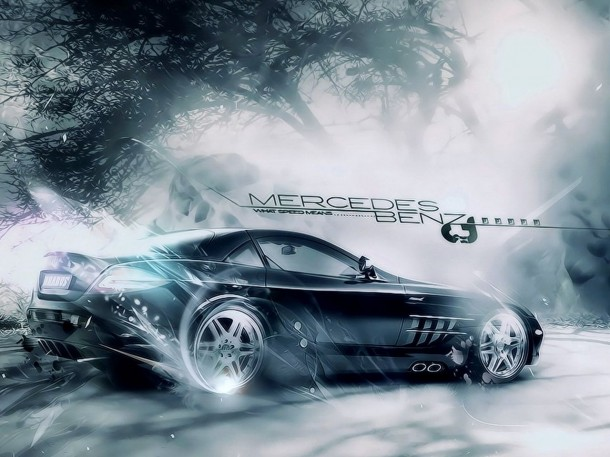 Wallpapers of Mercedes 12