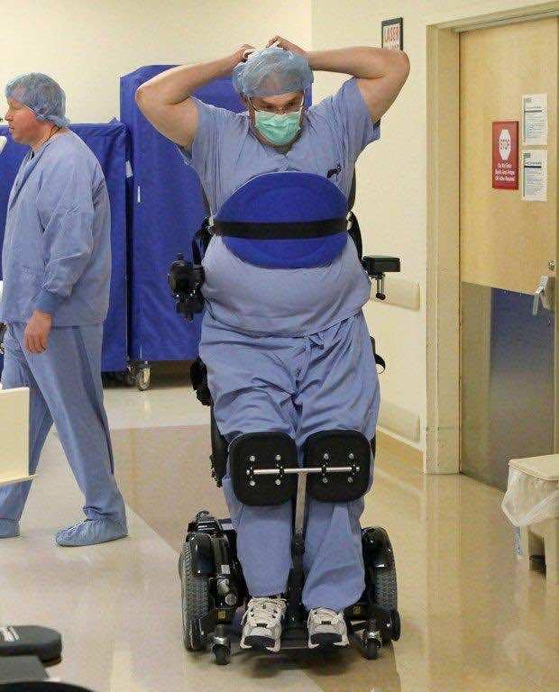 Ted Rummel Surgeon : rummel, surgeon, Paralyzed, Surgeon, Learns, Operate, Again, Thanks, Engineering