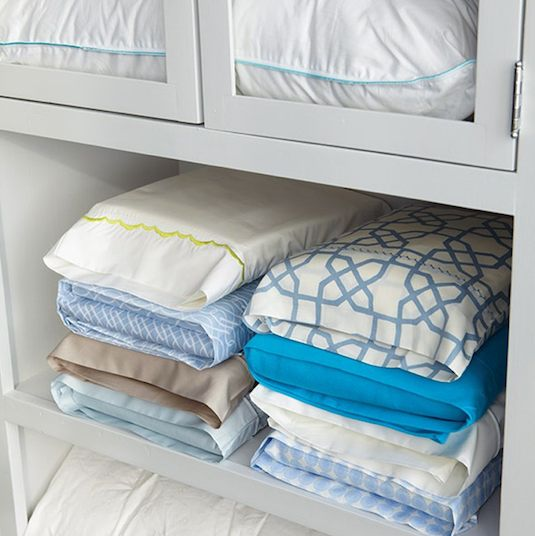 14. Pillow Case Storage