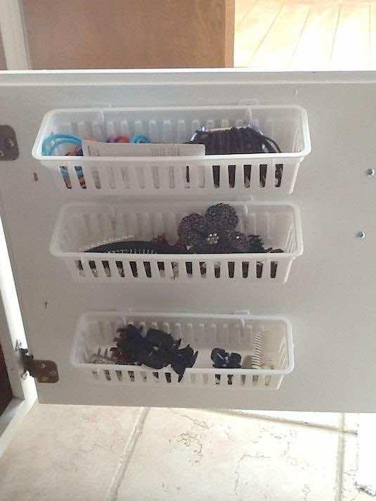 23. Under-Sink Storage Solution