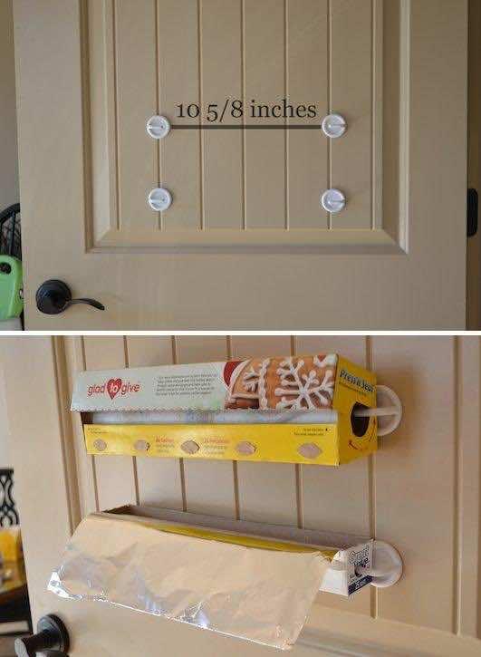 27. Foil & Plastic Wrap Storage