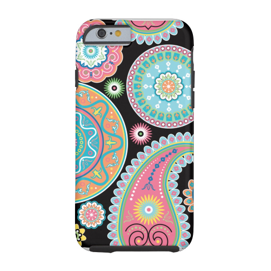 7. Boho Girl Paisley Multicolor Phone Case iPhone 6 Case