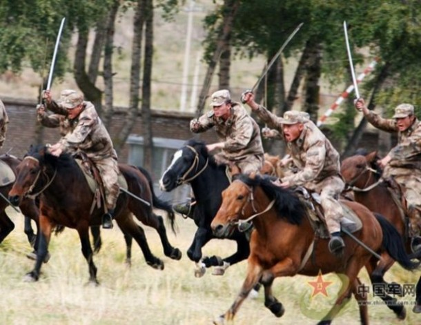 Chinese Army's Cavalry Division