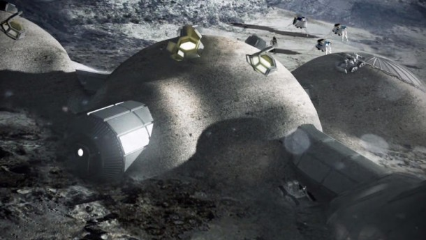 European Space Agency Reveals Home on Moon