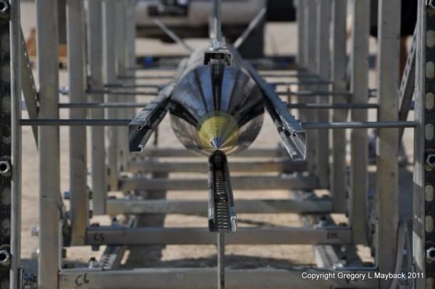 Homemade Rocket Reaches a Height of 121,000 ft10