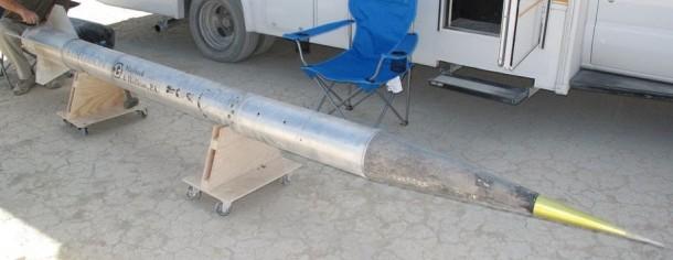 Homemade Rocket Reaches a Height of 121,000 ft9