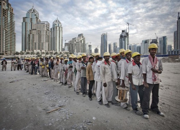 dubai foreign workers