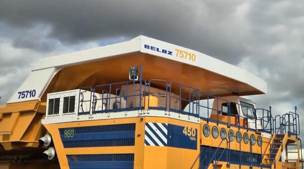 BelAZ 75710 – World's Largest Dump Truck3