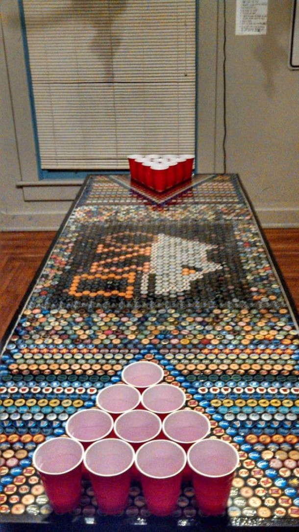 Bottle Caps Put to a Wonderful Use – You won't Believe What this Guy did!8