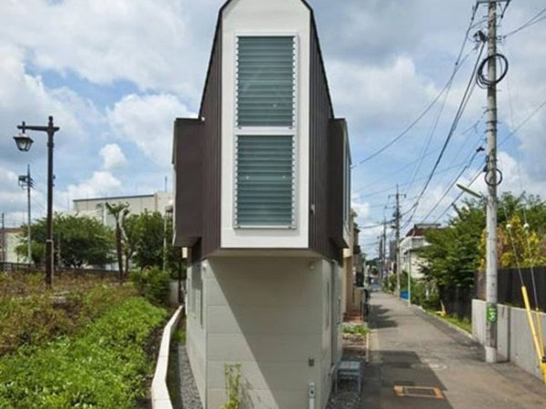Can You Imagine How This Tiny Triangular House Looks From Inside?