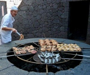 This Restaurant Grills Food Over Volcano 6