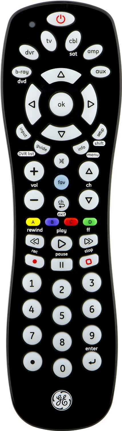 Ge 8 Device Universal Remote Codes List : device, universal, remote, codes, Universal, Remotes