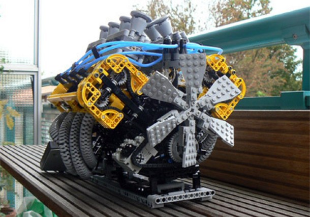 7 Wonderfully Engineered Gadgets Made Out Of LEGO 7