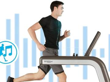 Technogym Shows Off Music-Interactive Treadmill At CES