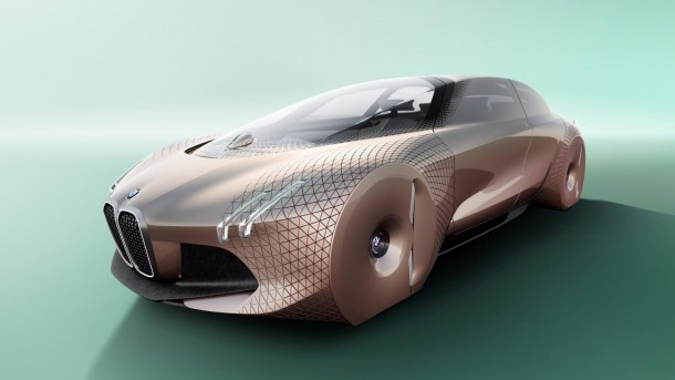 BMW's Vision Next 100 Has Been Unveiled On 100th Anniversary 3