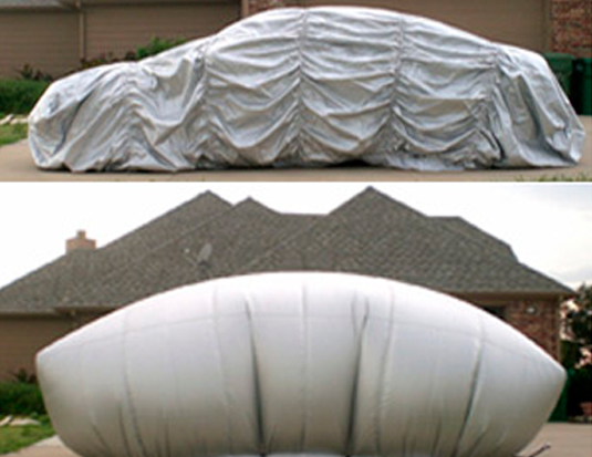 Ingenious Texan Cannot Keep Enough Inflatable Hail Protectors In Stock_Image 3