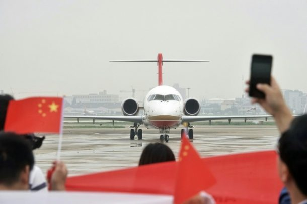 Made In China Plane Makes First Commercial Flight_Image 2