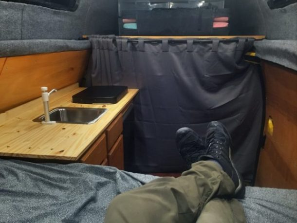 This Stylish And Comfy Camping Mobile Was Once A Rusty, Old Cargo Van_Image 22