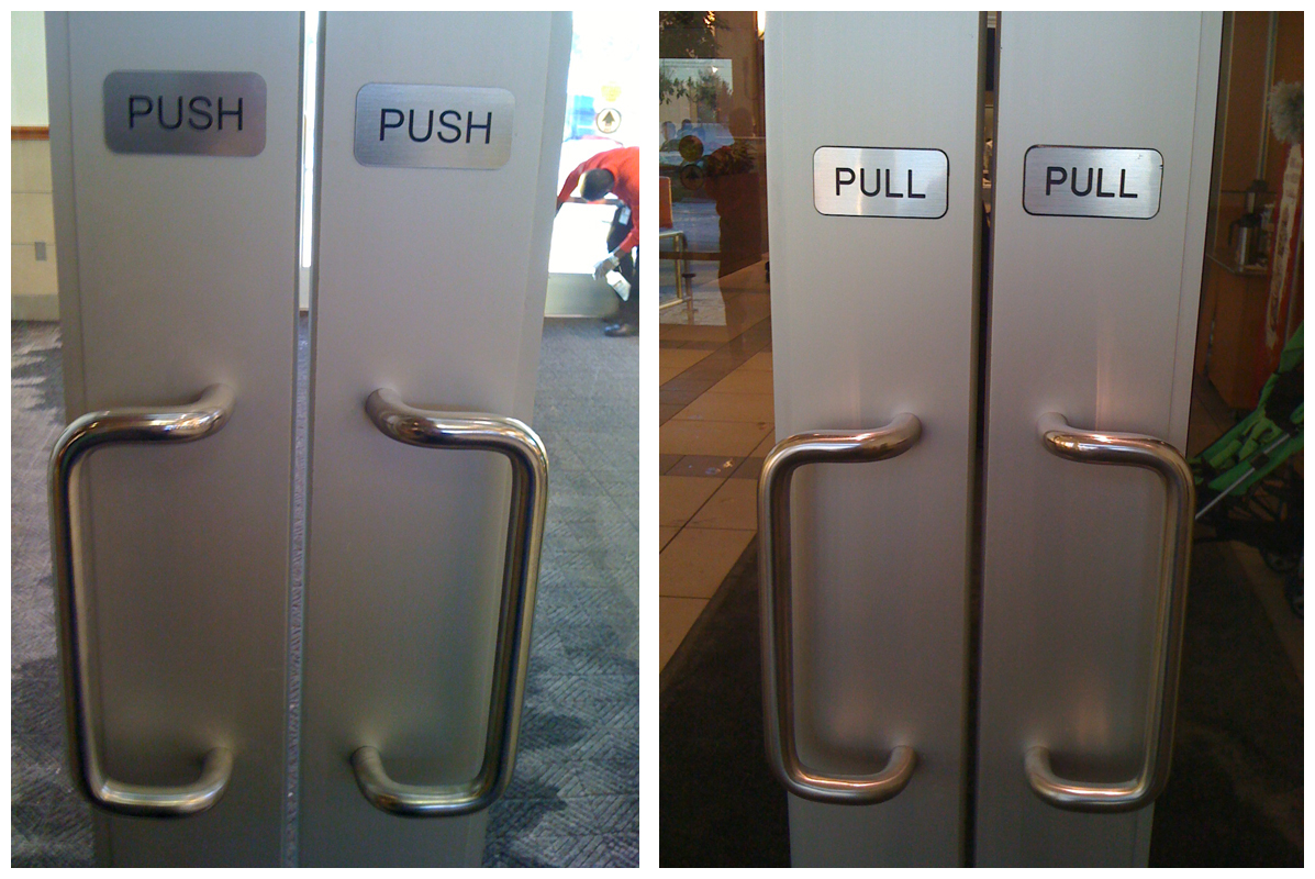 Ever Wondered Why Do You Always Push When It Clearly