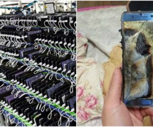 samsung note7 being used as cameras now