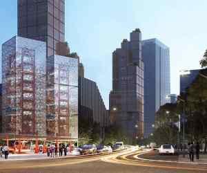 Ennead Lab Shanghai car charging tower (1)