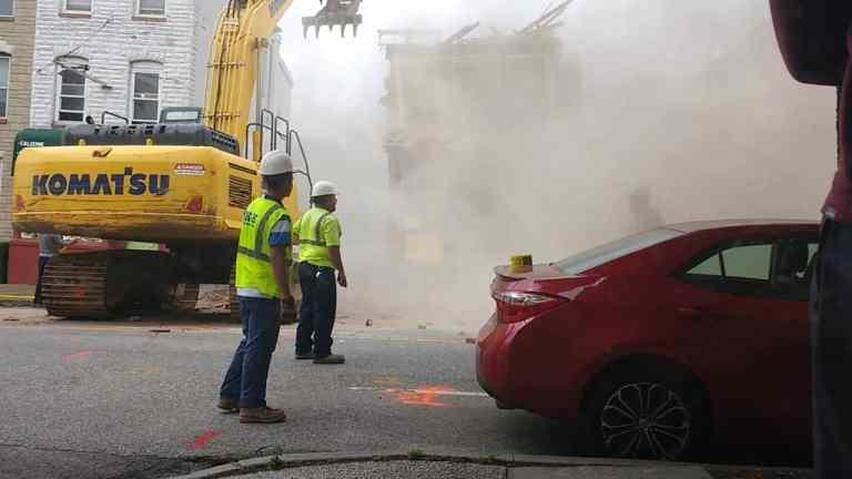 Demolition fail