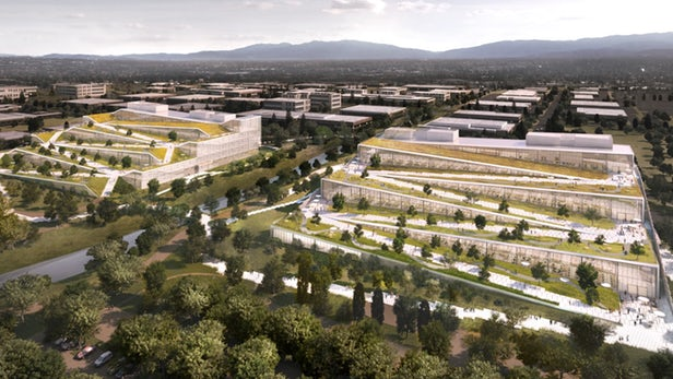 Check Out The New Google Campus In California