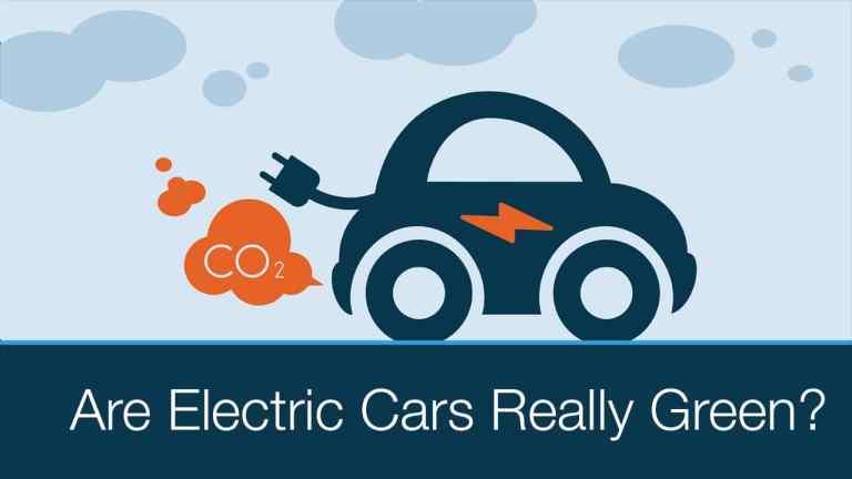 electric vehicles carbon footprint