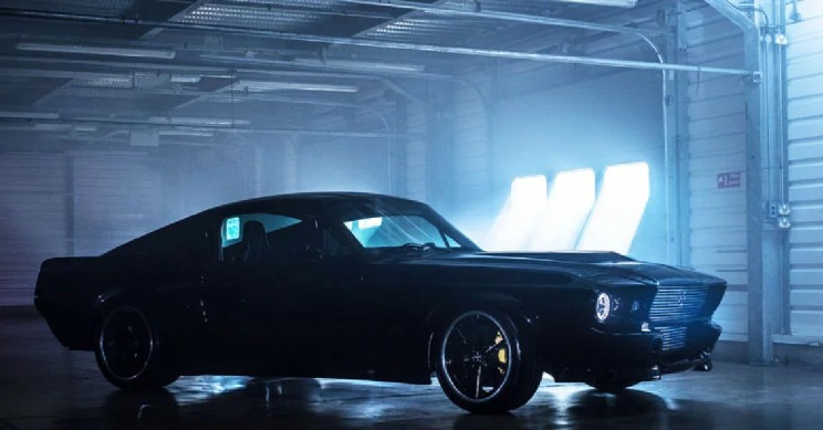 electric version of ford mustang