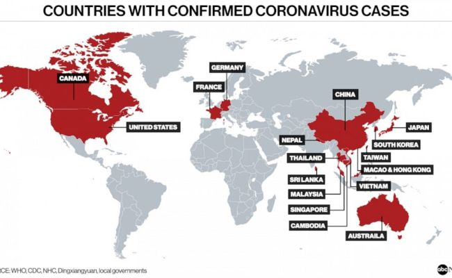 Here Are The Latest Updates On Coronavirus As It Spreads