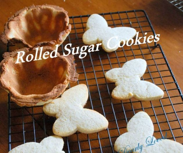 Rolled Sugar Cookies (THM S, Low Carb)
