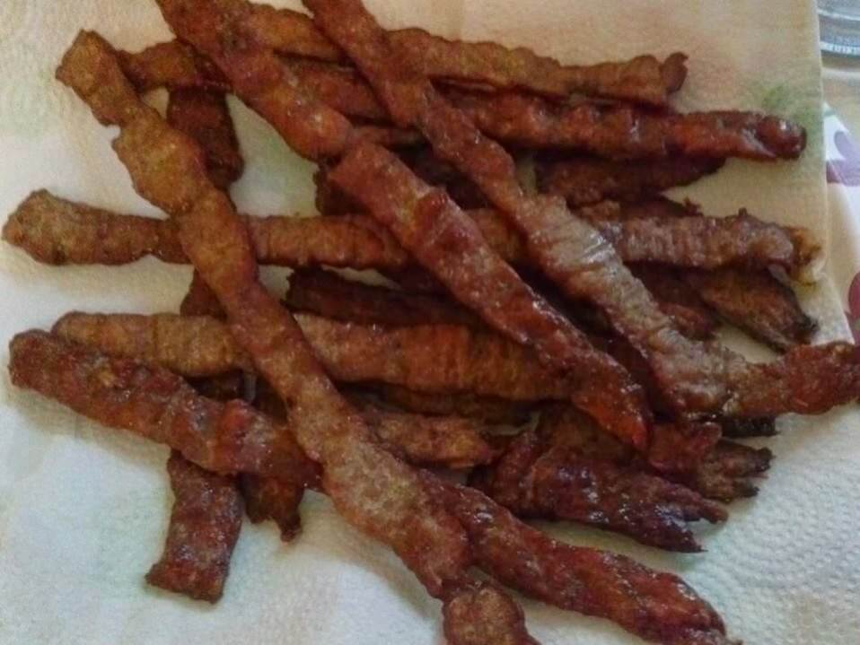 Turkey Jerky (Sugar Free, THM S, Low Carb)